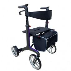 Carbon Fibre Rollator - Purple