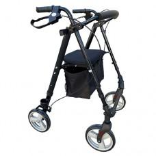 Rollator 6inch Flexi Height Adjustable - Charcoal