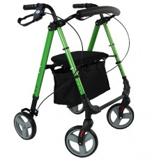 Rollator Flexi Height Adjustable - Lime Green