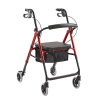 "Rollator RM201 Seat Adjustable 6"" Castor"