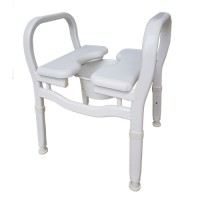 Combo Shower Stool/Chair/Over Toilet Aid