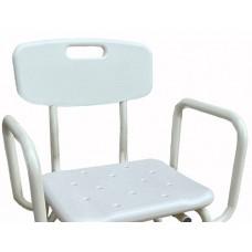 Aluminium Shower Stool Backrest