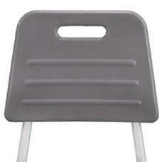 Shower Stool w Padded Seat Back Rest