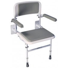 Solo Standard Wall Mounted Padded Shower Chair