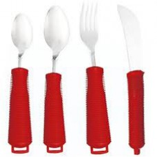 Bendable Cutlery Set - Red