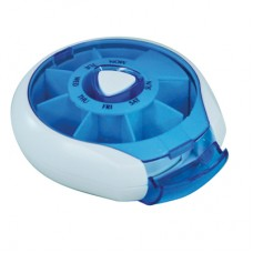 Compact Pill Dispenser - Blue