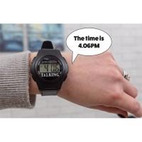 Water Resistant Talking Digital Watch