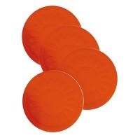 Tenura Anti-Slip Silicone Circle Coasters