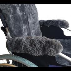 Sheepskin Wheelchair Armrest Cover