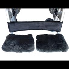 Sheepskin Wheelchair Footplate Cover