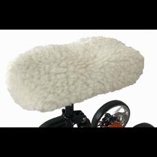 Sheepskin Knee Walker Cover