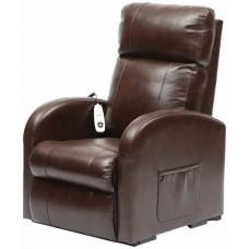 Daresbury Rise Recline Chestnut PU Chair