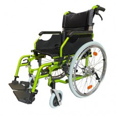 G3 Wheelchair S/P 51cm Seat with Drum Brake Green