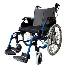 G4 Plus Wheelchair S/P 46cm Seat with Drum Brake Blue
