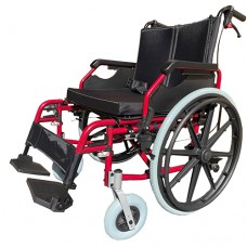 G6 Excel Bariatric Wheelchair 56cm Seat Red