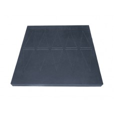 Easy Edge Threshold Rubber Ramp 60x760x750mm