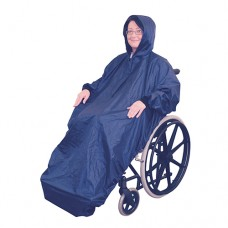 Wheelchair Mac with Sleeves - Blue
