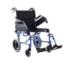 Lightweight Aluminium Transit Wheelchair 46cm Seat