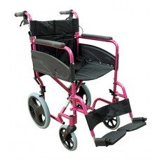 Wheelchair Compact Transporter - Pink