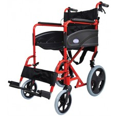 Wheelchair Compact Transporter - Red
