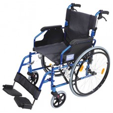 Wheelchair Deluxe Self Propelled - Blue