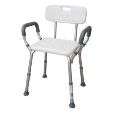 Shower Chair with detachable Backrest
